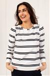 Flavia stripe shirt