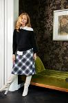 Nora plaid skirt